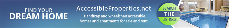 Handicap and wheelchair accessible homes and apartments for sale and rent.