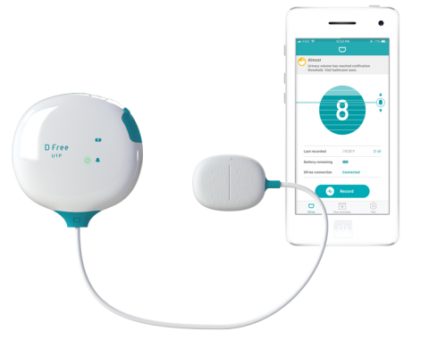 DFree Wearable for Urinary Incontinence