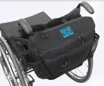 HandyBag Wheelchair Backrest Bag