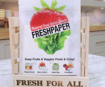 FRESHPAPER Food Saver Sheets for Produce