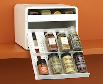 SpiceStack® Adjustable Spice Organizer
