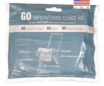 GO anywhere toilet kit®