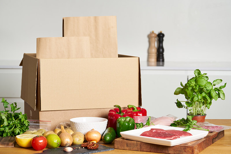 Meal Kits, Food Boxes & Services